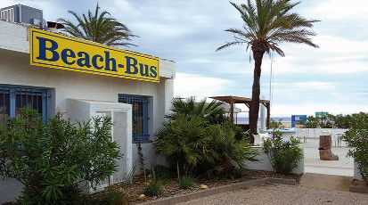 Vista de BEACH BUS